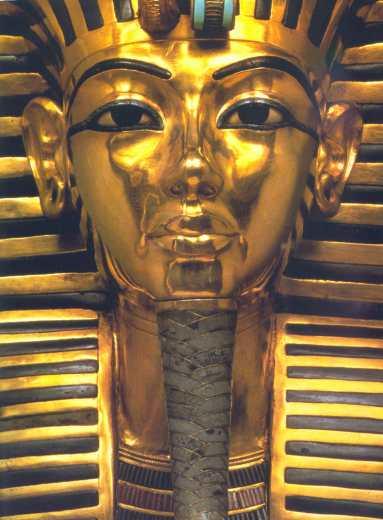 GOLD LEAF HISTORY EGYPT SARCOPHAGUS